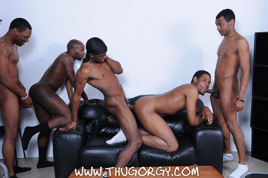 black gay orgys Black Guys Turned Their Bedroom For Group Orgy Video - Gay Porn.
