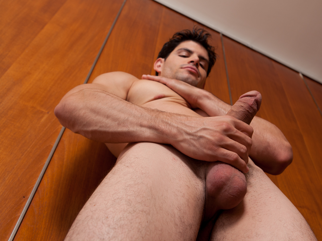 Hot Stud Plays With Own Cock