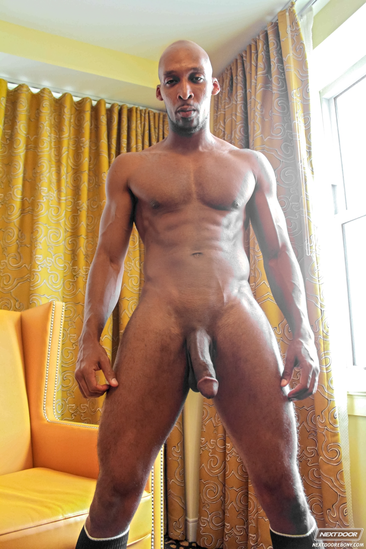 Naked black men with big dick