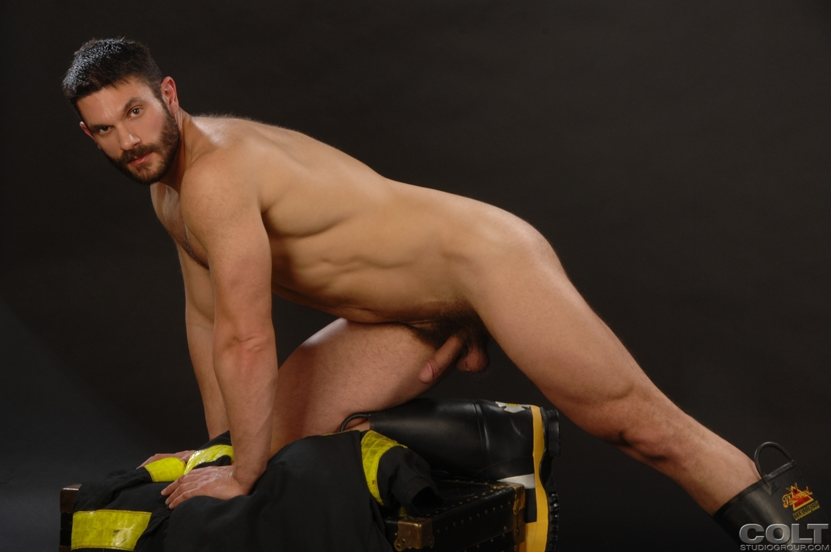 Firefighter porn muscle gay homemade